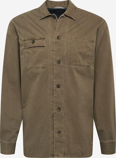 Camicia 'RUSSEl' JACK & JONES di colore cachi: Vista frontale