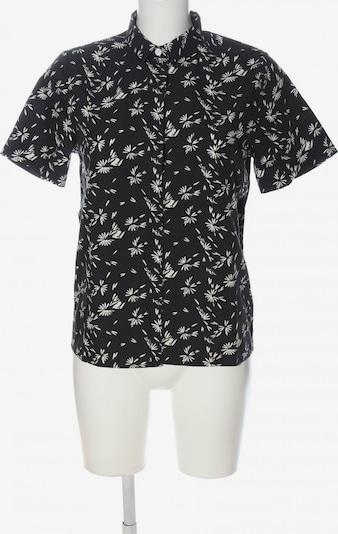 Wemoto Kurzarmhemd in S in schwarz / weiß, Produktansicht