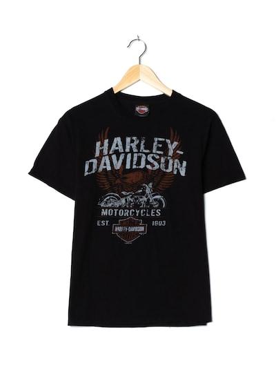 Harley Davidson T-Shirt in M-L in schwarz, Produktansicht