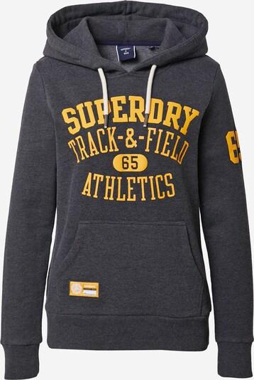 Superdry Sweater majica u žuta / antracit siva, Pregled proizvoda