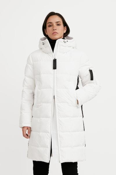 Finn Flare Wintermantel in de kleur Wit, Modelweergave