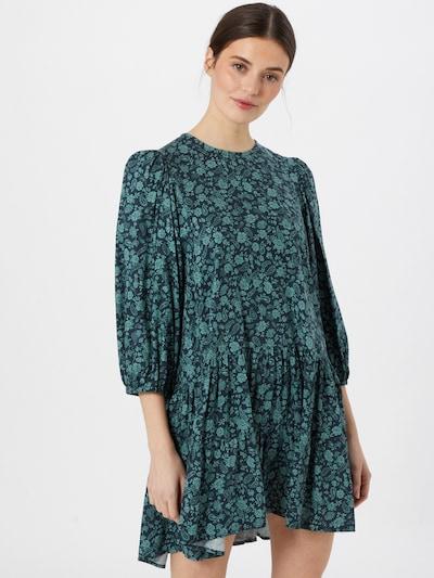 Motel Kleid 'Mareta' in jade / tanne, Modelansicht