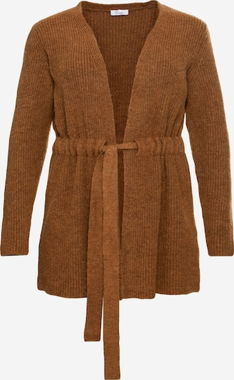 SHEEGO Knit cardigan in cognac, Item view