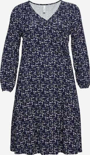 SHEEGO Kleid in navy / weiß, Produktansicht
