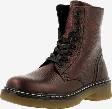 BULLBOXER Boots in Rot