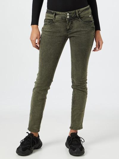 STREET ONE Jeans 'Crissi' in khaki, Modelansicht