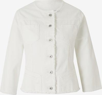 heine Jacke in white denim, Produktansicht