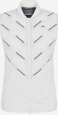 J.Lindeberg Sports Vest 'Shield Hybrid' in White