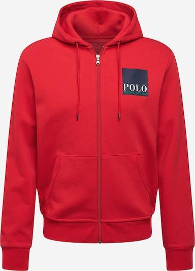 POLO RALPH LAUREN Veste de survêtement en bleu marine / vert / rouge / blanc, Vue avec produit