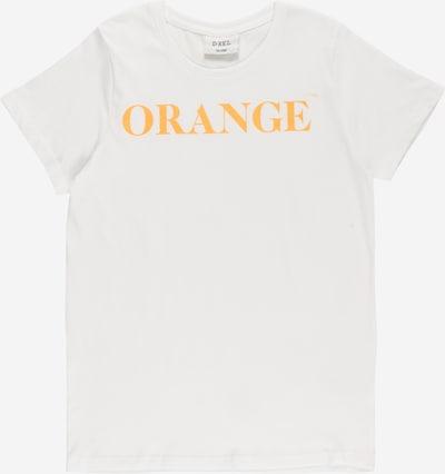 D-XEL Shirt 'LOTTY 989' in hellorange / weiß, Produktansicht