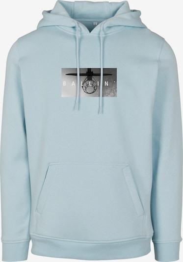 Mister Tee Sweatshirt i opal / grå / ljusgrå / svart, Produktvy