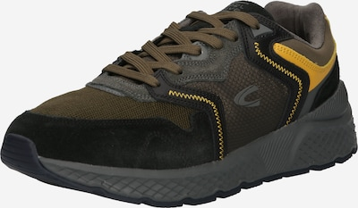 CAMEL ACTIVE Sneaker 'Viceroy' in braun / gelb / schwarz, Produktansicht