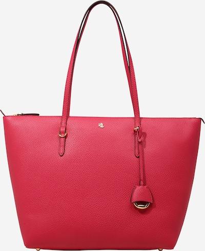 Borsa a mano Lauren Ralph Lauren di colore rosso rubino, Visualizzazione prodotti