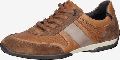 LLOYD Baskets basses en beige / marron / rouge / noir, Vue avec produit