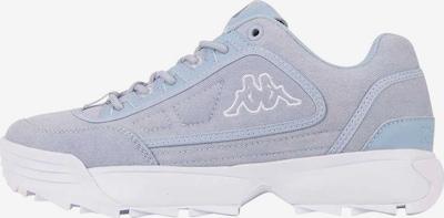 KAPPA Sneaker 'Rave Sun' in hellblau / weiß, Produktansicht