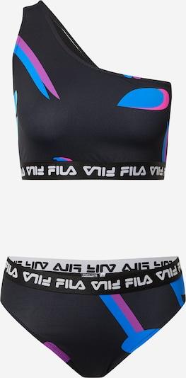 FILA Bikini 'ELISA' värissä sininen / lila / vaaleanpunainen / musta / valkoinen, Tuotenäkymä