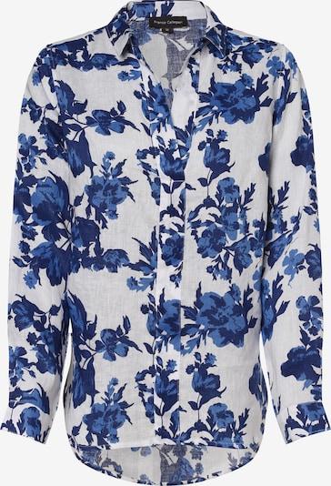 Franco Callegari Bluse in blau / dunkelblau / weiß, Produktansicht