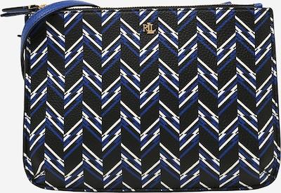 Lauren Ralph Lauren Olkalaukku 'CARTER 26' värissä sininen / musta / valkoinen, Tuotenäkymä