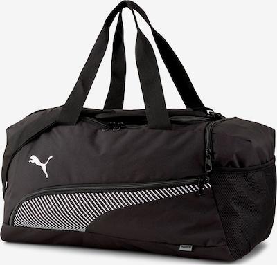 PUMA Sporttas in de kleur Zwart / Wit, Productweergave