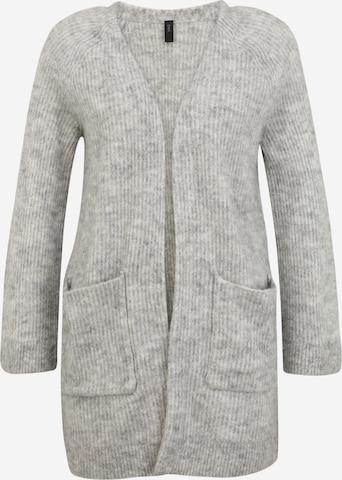 Y.A.S Petite Strickjacke 'ALVA' in Grey