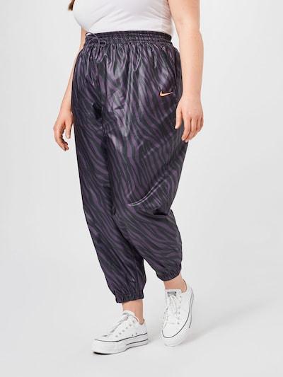 Nike Sportswear Kalhoty - fialová / černá, Model/ka