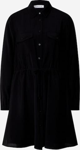 EDITED Sukienka koszulowa 'Faye' w kolorze czarny