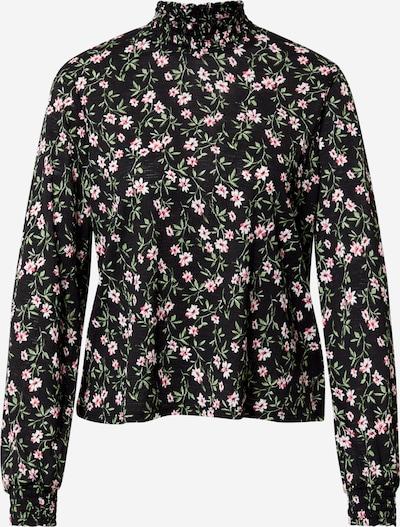 ONLY Shirt 'PELLA' in grün / pink / schwarz / weiß, Produktansicht