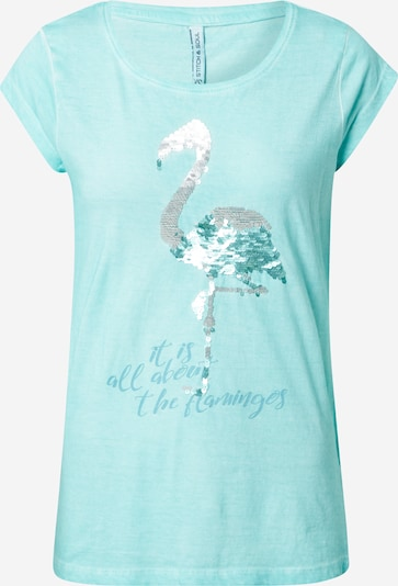 Stitch and Soul Shirt in mint, Produktansicht