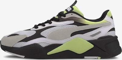 PUMA Sneaker 'RS-X³ Neo Fade' in grün / schwarz / weiß, Produktansicht
