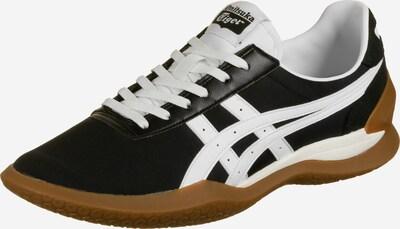 Onitsuka Tiger Chaussure de sport à lacets en noir / blanc, Vue avec produit