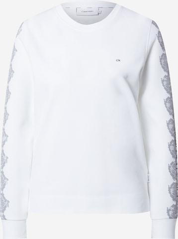 Calvin Klein Sweatshirt in White