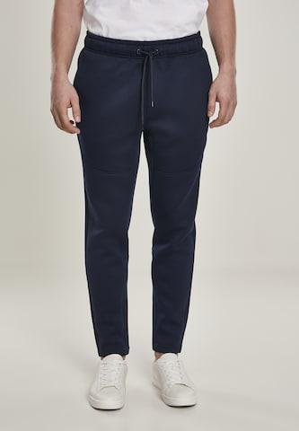 Pantalon Urban Classics Big & Tall en bleu