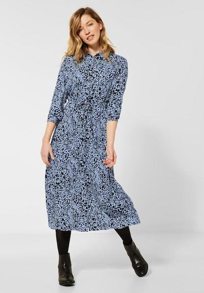 CECIL Kleid in blau / schwarz, Modelansicht