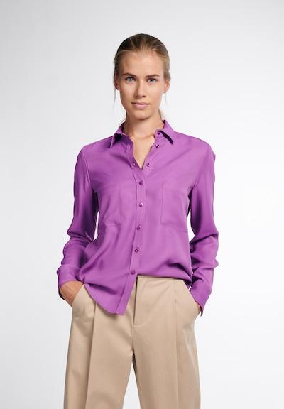 ETERNA Langarm Bluse 'MODERN CLASSIC' in lila, Modelansicht