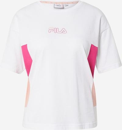 FILA Sportshirt in fuchsia / puder / weiß, Produktansicht
