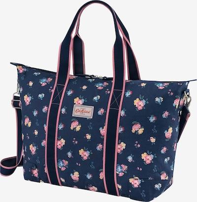 Cath Kidston Shopper in navy / hellblau / gelb / grün / pink, Produktansicht