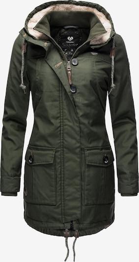 Ragwear Winterparka ' Jane ' in dunkelgrün, Produktansicht