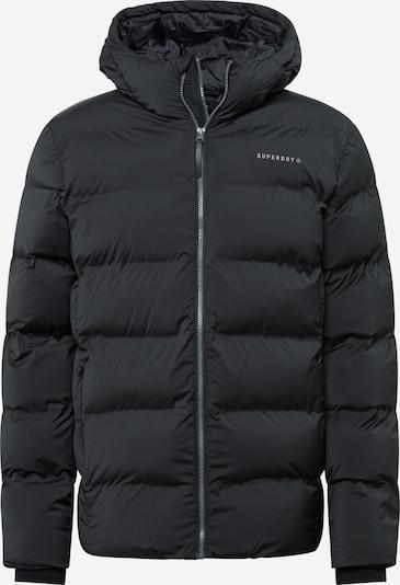 Superdry Zunanja jakna | črna / bela barva, Prikaz izdelka