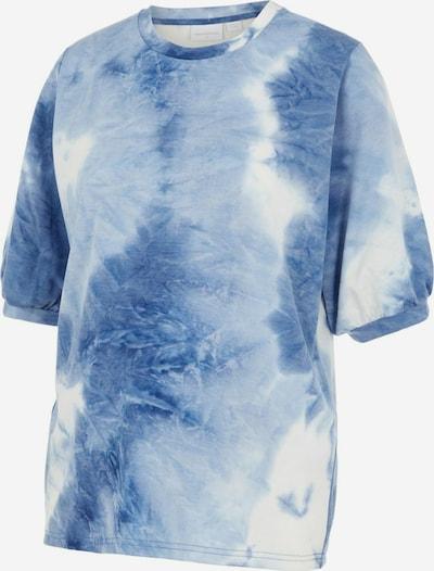 MAMALICIOUS Shirt in aqua / weiß, Produktansicht