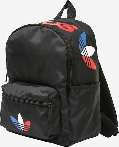 ADIDAS ORIGINALS Plecak w kolorze niebieski / czerwony / czarny / białym: Widok z przodu