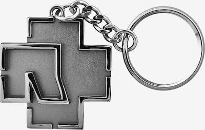 Mister Tee Sleutelhanger 'Rammstein Logo Schlüsselanhänger ' in de kleur Grijs, Productweergave