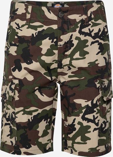 Pantaloni cu buzunare DICKIES pe bej / maro / kaki / verde pin, Vizualizare produs