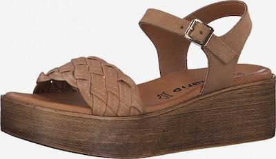 Sandalai iš TAMARIS , spalva - ruda, Prekių apžvalga
