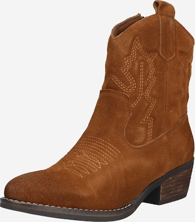 PS Poelman Cowboy boot 'APOE' in Cognac, Item view