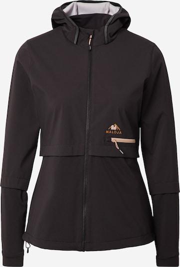 Maloja Športna jakna | črna barva, Prikaz izdelka