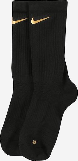 NIKE Sportovní ponožky 'Elite' - zlatě žlutá / černá, Produkt