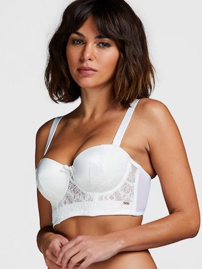 Hunkemöller Soutien-gorge 'Hannako' en blanc, Vue avec modèle