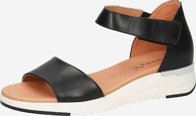 CAPRICE Sandale in schwarz, Produktansicht