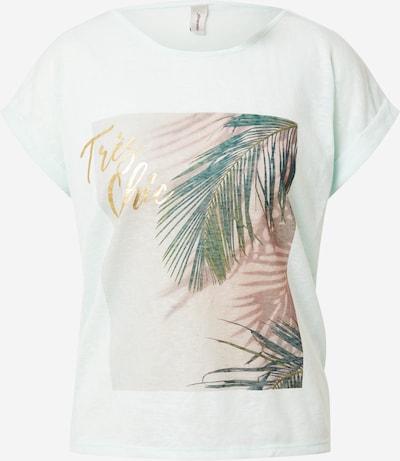 Soyaconcept T-shirt 'ARETHA' en azur / or / pétrole / vert clair / rose ancienne, Vue avec produit