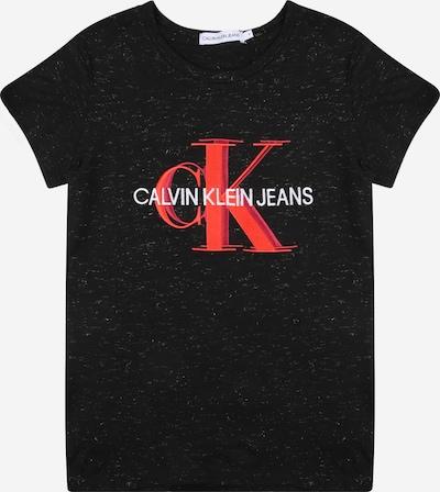 Calvin Klein Jeans Tričko - červená / světle červená / černý melír / bílá, Produkt